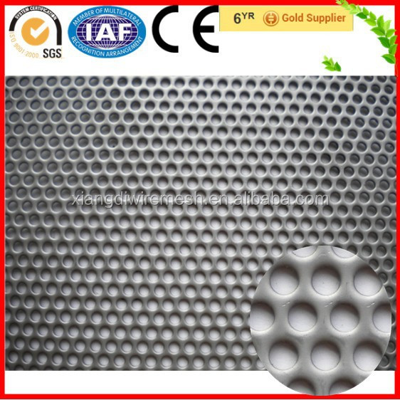 Aluminum Round Hole Perforated Sheets Net(Manufacturer)
