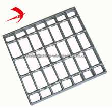 China price hot dip galvanized metal grating press welded steel grid