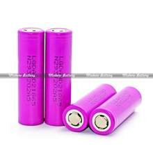 Mahero battery Rechargeable battery for china supplier LG HD2 2000mah 3.7V 18650 battery