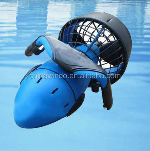 Blue color underwater diving electric sea scooter motor