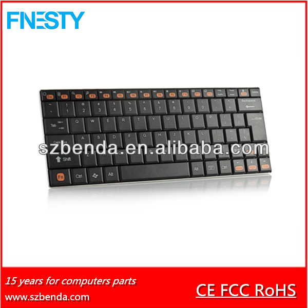 Newest mini 10inch Aluminum Bluetooth Keyboard for HTC one,ipad,iphone,galaxy android tablet ,PC