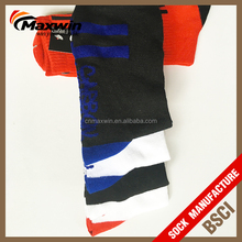 New design Polyester/ Spandex / Cotton Soccer Socks/Knee High Sport Socks with good quanlity