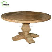 FN-5061classic antique style round wood dining room table