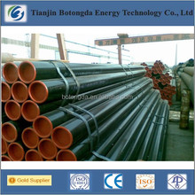 Black steel tube/carbon steel pipe api 5l pipeline/Black Iron welded pipe