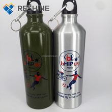 customized printing in bicycle water bottle for promotion aluminum bottle 400ml