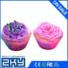Eco-friendly Bakeware round silicone cupcake mold, silicone chocolate mould