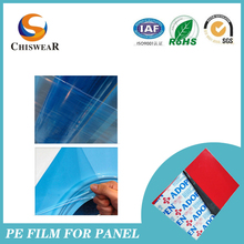 blue film laser cutting film for stainless steel