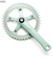 XA101 44T steel chainring and 170mm alloy crank without chainguard