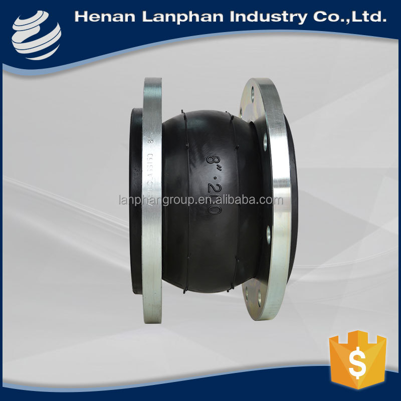 durable in use flange pn16 rubber expansion joint