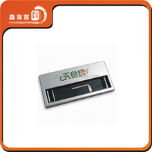promotional plastic magnetic reusable window name badge
