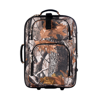 2015 bionic forest tree design fabric handle ferric luggage buit-in travel bag