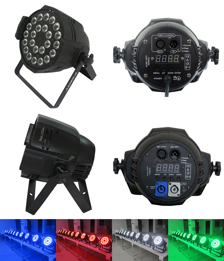 10W24 rgbw stage power par can light
