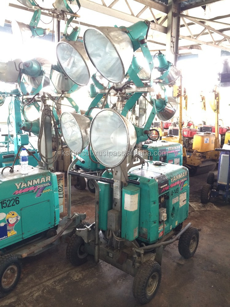 YANMAR 400WATT X 4 CONSTRUCTION LIGHT TOWER