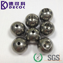 drilled steel ball factory custom 3mm to 75mm steel ball with hole , 3mm 4mm 5mm steel balls with 1.5mm 2mm drilled holes