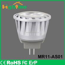 Best selling products High light LED MR11 Bulb GU4 AC12V
