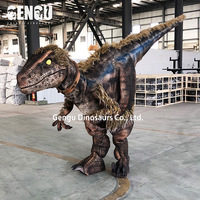 Animatronic dinosaur costume walking with dinosaurs the movie