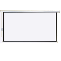 150 inch 16 9 sizes home use theater celling projection screen
