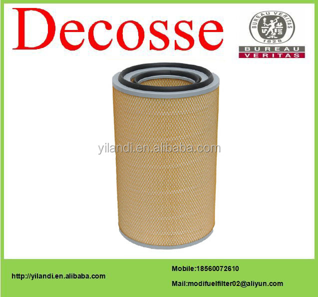 High quality/auto/bus air filter KLT 3046 American HV paper for Steyr king/HOWO