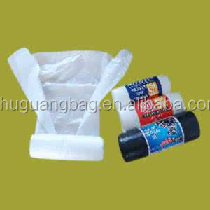 Low price plastic black bags for trash