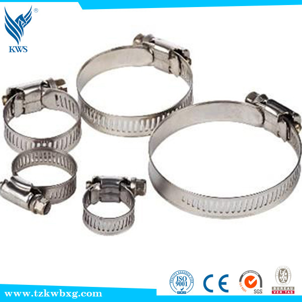worm drive germany hose clamp with thumb screw