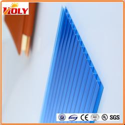 PC polycarbonate sheet solar panel with fire-retardant certificate