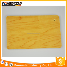 Wooden look indoor PVC basketball badminton court flooring