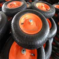China Rubber Wheel Lawn Mower 3.50-6 Best Price
