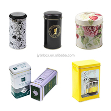 China supplier food grade packaging tea tin box tea tin can