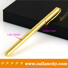 Precious 24k real gold writting promotional ball-point pen