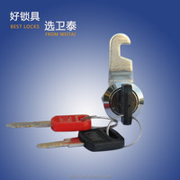 Disc tumbler cylinder cam lock with master key for mail box file cabinet