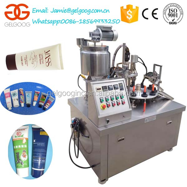 Commercial Semi Automatic Tube Filling Sealing Machine