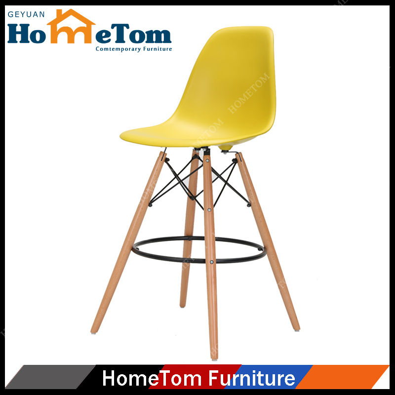 High Quality Durable Stackable Plastic Bar Stool Bar Chair