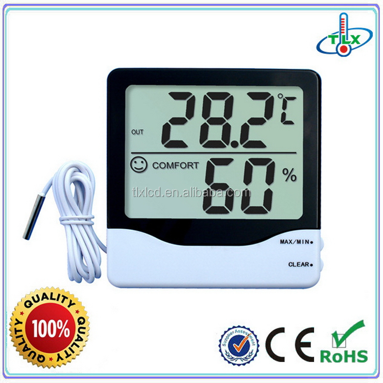 Fashion useful probe outdoor thermometer