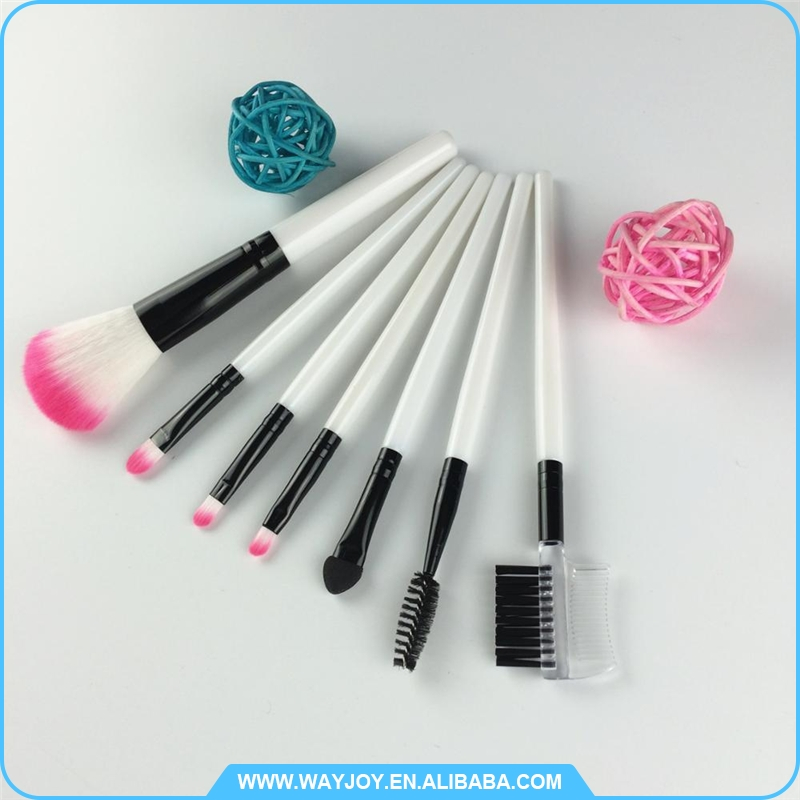 low moq makeup synthetic cosmetic brushes brush set