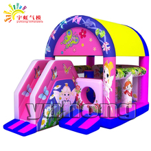 little fairy kids jumping house commercial inflatable combo bouncer
