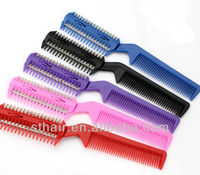 Most popular comb with blade, hair comb razor wholesale
