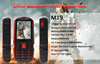 2.4 inch CDMA rugged waterproof Arabic cheap mobile phone