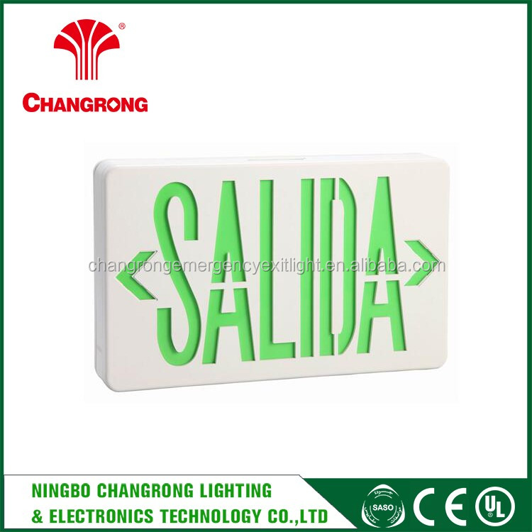 building exit signs board , alibaba led emergency exit signs