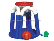 3.6mWx3.6mLx2.5mH giant Inflatable Basketball Hoop Inflatable basketball goal Inflatable basketball sports game