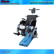Stair climbing assist for disabled/Foldable incliend wheel chair lift