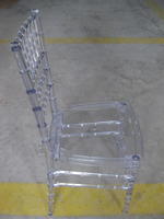 wholesale quality ice PC resin chiavari chair