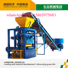 Shandong dongyue easy operate QT4-24 manual brick cement block making machine for sale