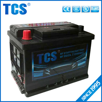 Dry Charged atlas car battery/Auto Battery/ Korea mf battery Starting Battery with 12 months warranty life