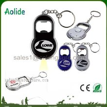 mini LED Keychain Light with Bottle Opener more colors for chrismas promotion