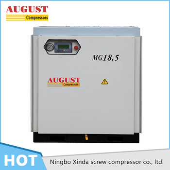 Fully Enclosed Motor Drive high power stationary industrial air compressor