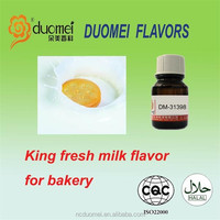 King fresh milk fragrance oil flavor international food grade flavor top food enhance for bakery