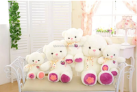Wholesale high quality fabric teddy plush toy made in China