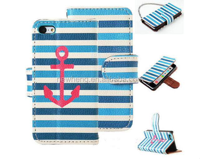 Supplier Card Holder Wallet Flip Case Mobile Phone Cover For Samsung Galaxy S4 i9500