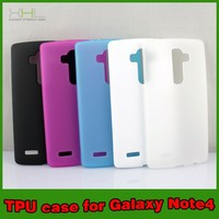 Cell Phone Jelly TPU Case Cover For LG G4