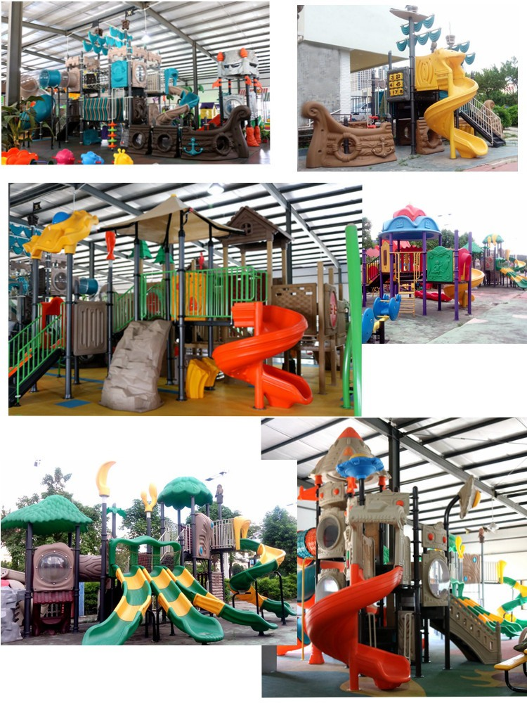 Big Pirate Ship Outdoor Playground for kids